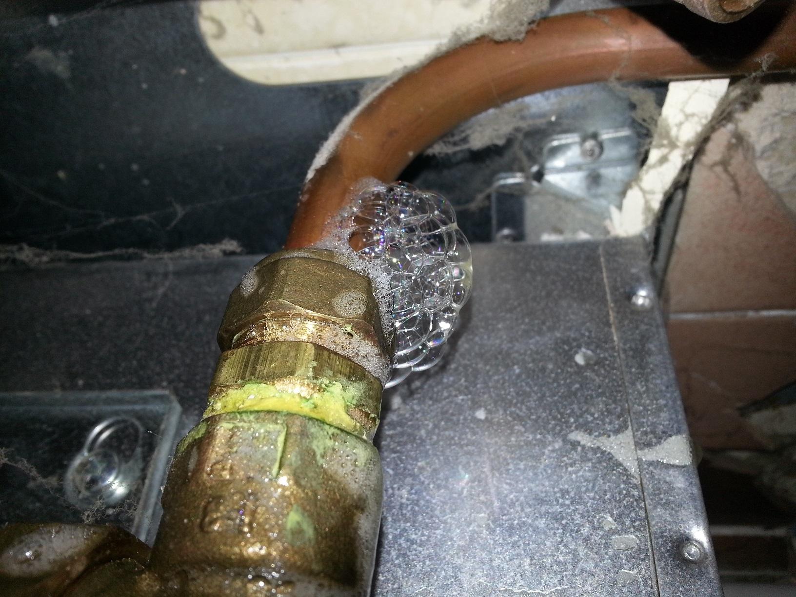 Gas leaks